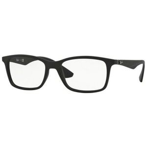 Matte Black Ray-Ban Glasses 7047